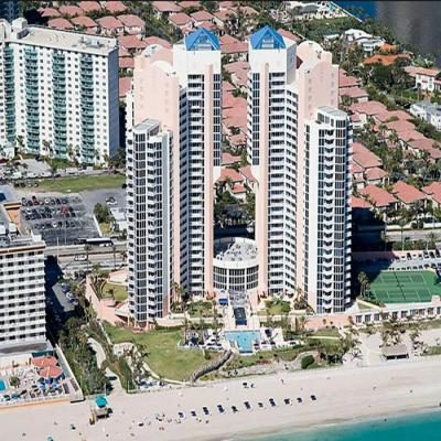 Квартира Ocean Two в жилом комплексе Флориды (США)
