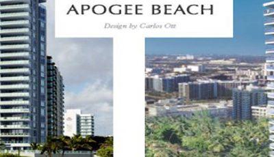 Квартира Apogee Beach в жилом комплексе Флориды (США)