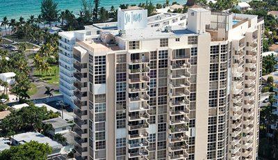 Квартира Aquazul в жилом комплексе Флориды (США)