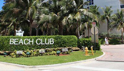 Квартира Beach Club I в жилом комплексе Флориды (США)