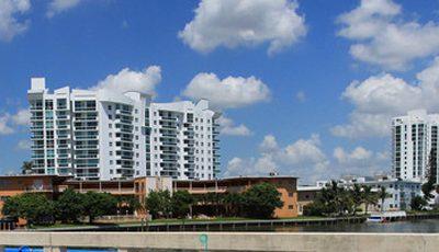 Квартира Blue Bay в жилом комплексе Флориды (США)