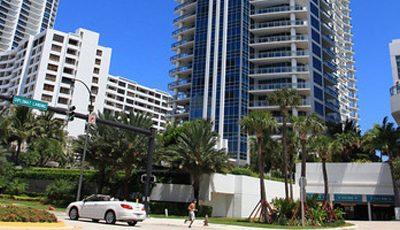 Квартира Diplomat Residences в жилом комплексе Флориды (США)