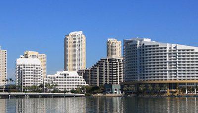 Квартира Emerald at Brickell в жилом комплексе Флориды (США)