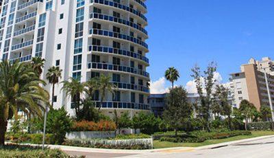 Квартира Ocean Marine Yacht Club в жилом комплексе Флориды (США)