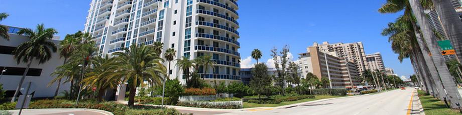 Квартира в США по адресу Hallandale Beach, FL 33009
