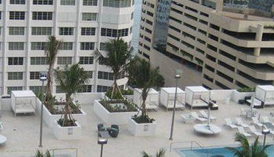 Квартира The Plaza on Brickell в жилом комплексе Флориды (США)