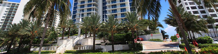 Квартира в США по адресу 2711 S Ocean Dr, Hollywood, FL 33019