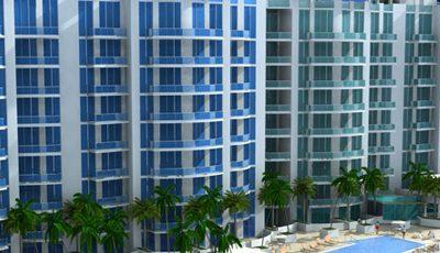 Квартира Uptown Marina Lofts в жилом комплексе Флориды (США)