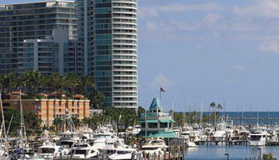 Квартира Yacht Club в жилом комплексе Флориды (США)