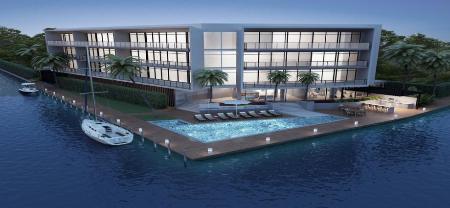 Квартиры в новостройке США по адресу 4098 NE 167th St, North Miami Beach, Florida