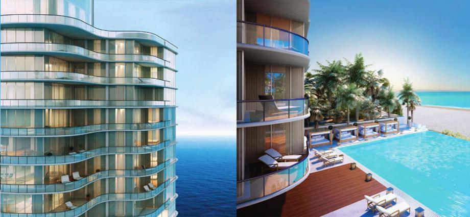 Квартиры в новостройке США по адресу 17475 Collins Ave, Sunny Isles Beach