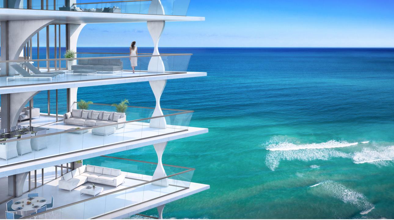Квартиры в новостройке США по адресу 17070 Collins Ave, Sunny Isles Beach, FL 33160