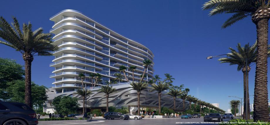 Квартиры в новостройке США по адресу 17550 Collins Ave, Sunny Isles Beach, FL 33160