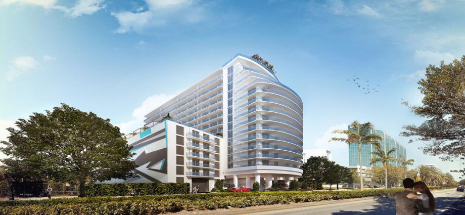 Квартиры в новостройке США по адресу 4250 Biscayne Blvd, Miami, FL 33137