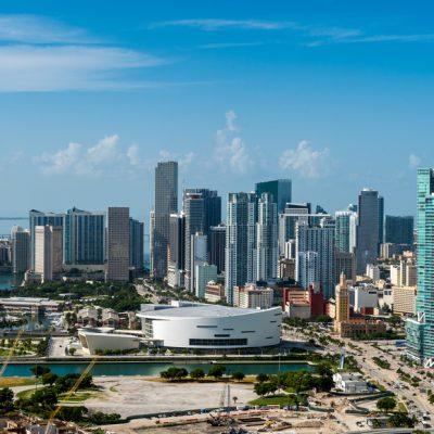 Новостройки Downtown Miami во Флориде (США)