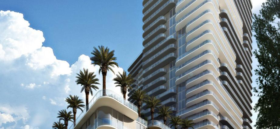 Квартиры в новостройке США по адресу 3401 NE 1 Ave., Miami, FL 33137