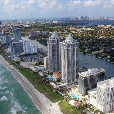 Новостройки Miami Beach во Флориде (США)