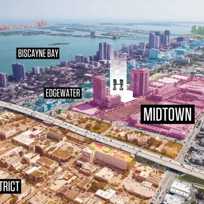 Новостройки Midtown Miami во Флориде (США)