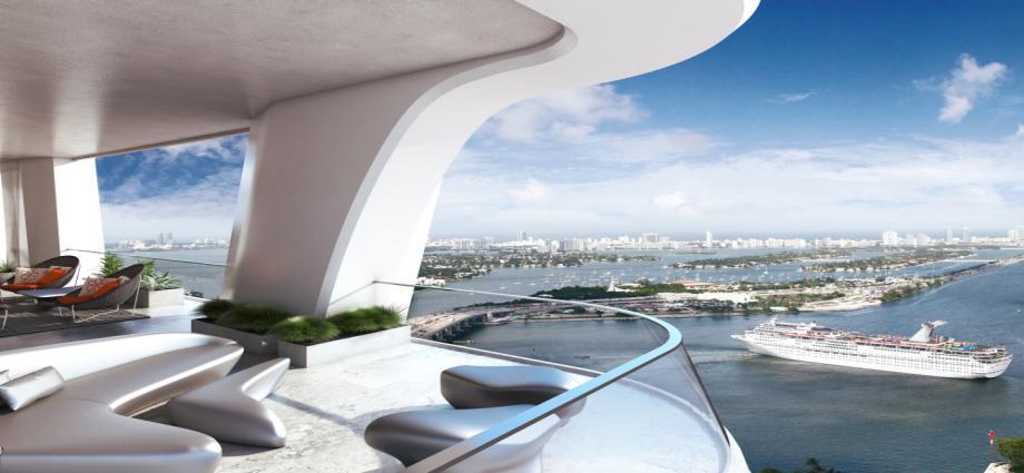 Квартиры в новостройке США по адресу 1000 Biscayne Blvd, Downtown Miami, FL 33132