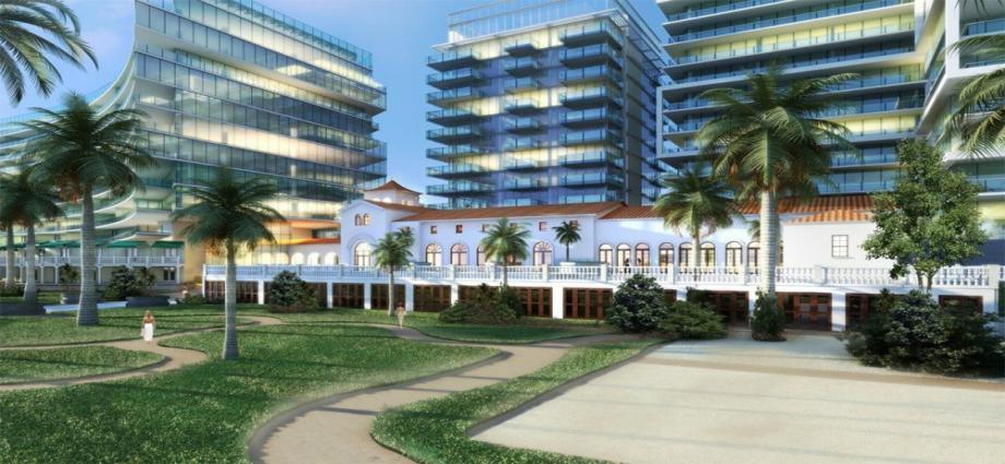 Квартиры в новостройке США по адресу 9011 Collins Ave, Surfside, FL 33154