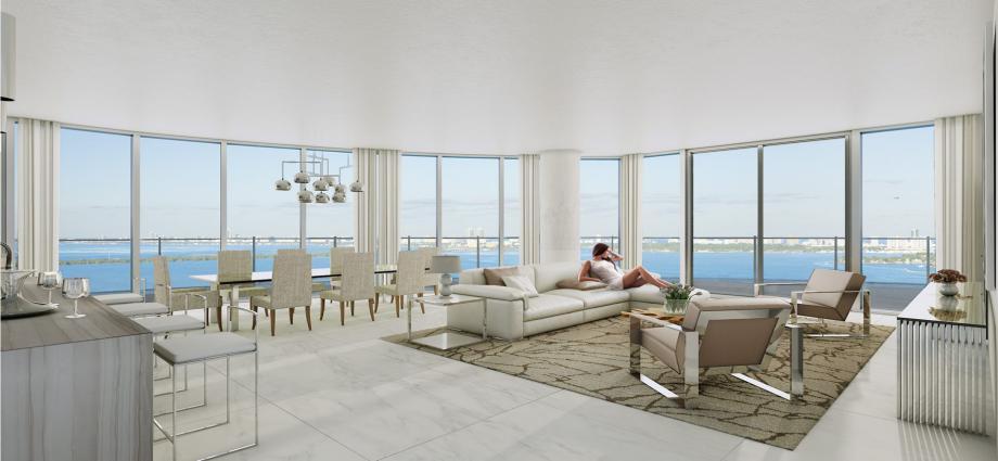 Квартиры в новостройке США по адресу 250 NE 25th St, Miami