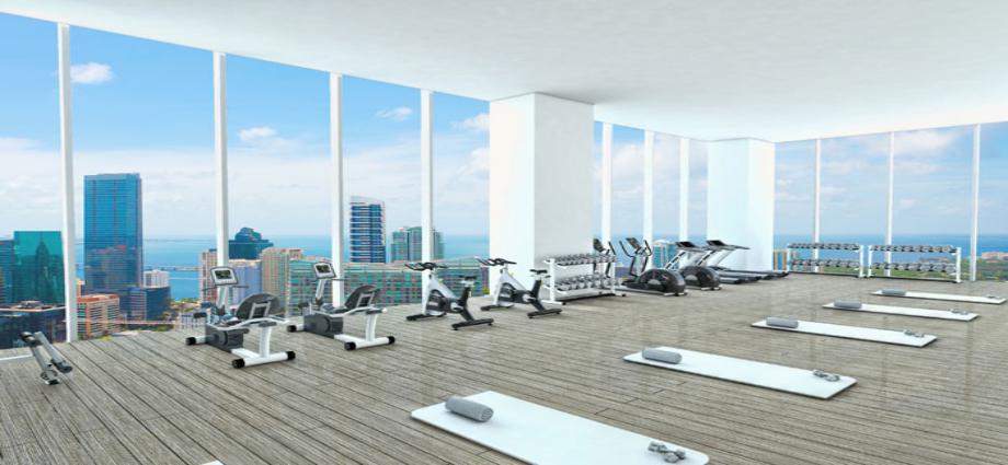 Квартиры в новостройке США по адресу 55 SW Miami Avenue Rd, Miami