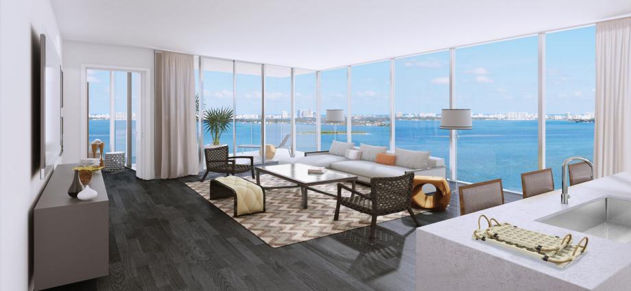 Квартиры в новостройке США по адресу 321 NE 26th St, Miami, FL 33137