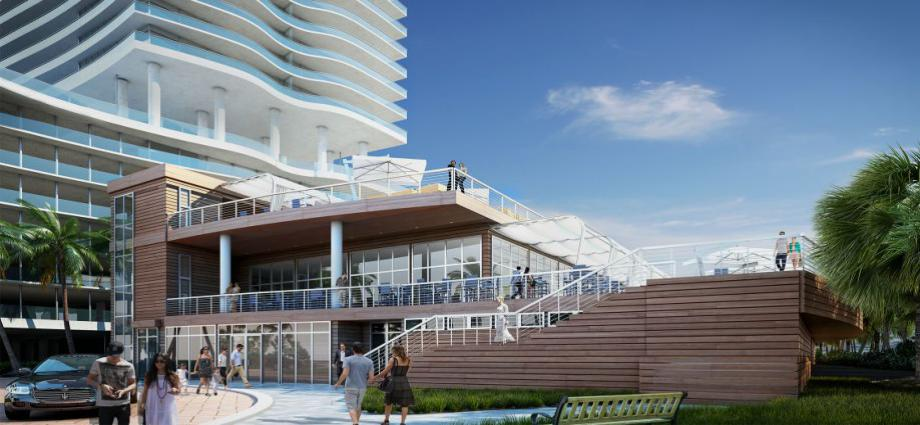 Квартиры в новостройке США по адресу 4111 S Ocean Dr, Hollywood, FL 33019