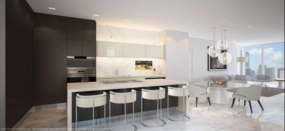 Квартиры в новостройке США по адресу 1010 NE 2nd Ave, Miami, FL 33132