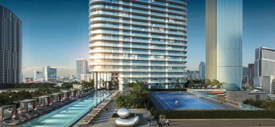 Квартиры в новостройке США по адресу 444 Brickell Ave, Miami, FL 33131