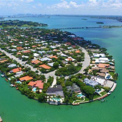 Новостройки Bay Harbour Islands во Флориде (США)