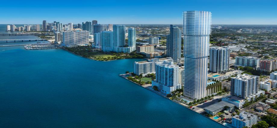Квартиры в новостройке США по адресу 254 NE 30th St, Miami