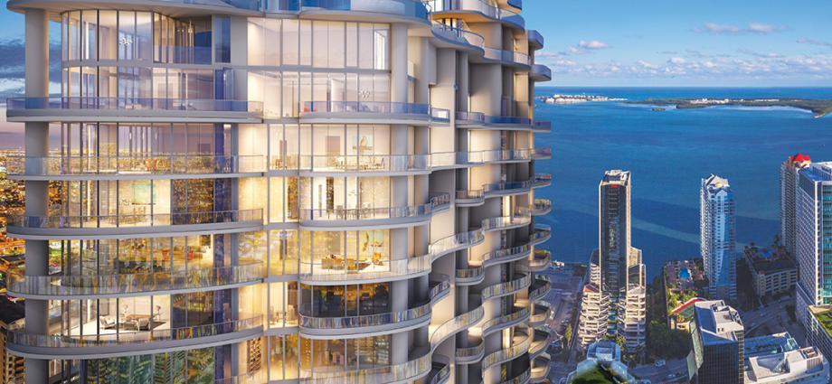 Квартиры в новостройке США по адресу 1001 S Miami Ave, Miami, FL 33130