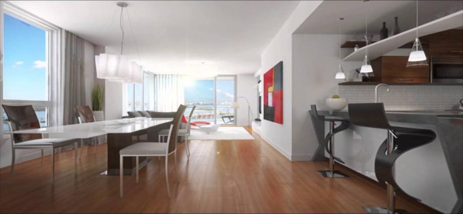 Квартиры в новостройке США по адресу 601 NE 27th Street,, Miami, FL 33137