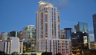 Квартира 1060 Brickell Avenue в жилом комплексе Флориды (США)