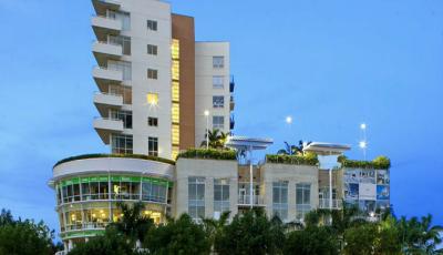 Квартира Midblock в жилом комплексе Флориды (США)