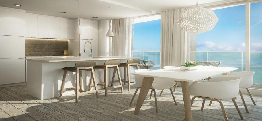Квартиры в новостройке США по адресу 3300 Southeast 1st Street, Pompano Beach, FL